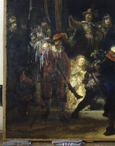 Ataque con ácido, 6-4-1990. Civic guardsmen of Amsterdam under command of Banninck Cocq