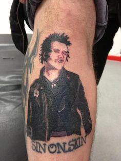 Татуировки секс пистолс