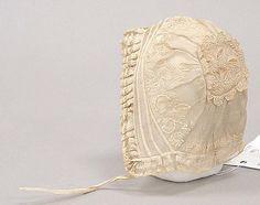Infant's Cotton bonnet