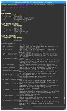 netattack- A Tool for Wireless Network Scan and Attack infosechackingethical hacking