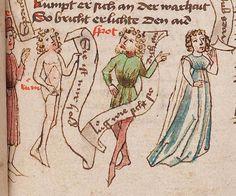 Wolfenbüttel, Herzog August Bibliothek,  Thomasin <Circlaere>   Welscher Gast (W) — Süddeutschland, 3. Viertel des 15. Jhs. Cod. Guelf. 37.19 Aug. 2° Folio 10r