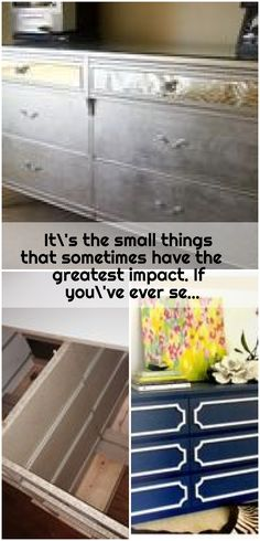 It s the small things that sometimes have the greatest impact If you ve ever se greate It s the small things that sometimes have the greatest impact If you ve ever se greate ikea dresser hack ikea dresser hack ikea nbsp hellip dresser makeover Ikea Dresser Hack, Ikea Hack, Ikea Makeover, Small Things, Hacks, Storage, Furniture, Home Decor, Purse Storage