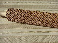 ROYAL FLOWER pattern rolling pins and cookie cutter Rolli…