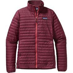 Patagonia Down Shirt Jacket - Women'sOxblood Red