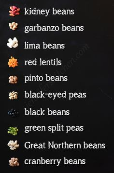 Different Kinds of Beans Food Vocabulary, English Vocabulary Words, Learn English Words, English Grammar, Names Of Spices, List Of Spices, Fruit Names, Food Names, Indian Food Recipes