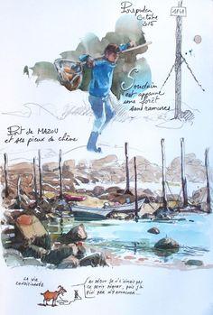Yann Lesacher,  Bretagne - scwtch book