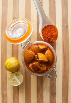 Instant Lemon Pickle Recipe - Kerala Style Naranga Achar Recipe - Instant Lemon Pickle Recipe is a spicy and tangy Kerala style pickled recipe made with lemons. Easy Healthy Recipes, Vegetarian Recipes, Cooking Recipes, Lemon Pickle Recipe, Kerala, How To Make Pickles, Best Pickles, Homemade Pickles, Homemade Food