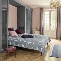 ferm LIVING Cut Bed Cover - Grey | Duvets, Quilts & Coverlets | Bedding | Decor | Candelabra, Inc.