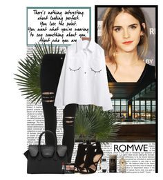 """""""Romwe"""" by polybaby ❤ liked on Polyvore featuring Gucci, MAC Cosmetics, ALDO and Lipsy"""