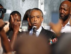 Rev. Sharpton fighting for Justice for Trayvon Martin and all those affected by the in justices in America !!!