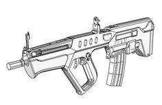 Dibujos De Free Fire Para Colorear Armas
