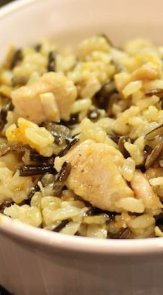 One Pot Chicken and Wild Rice (Instant Pot)
