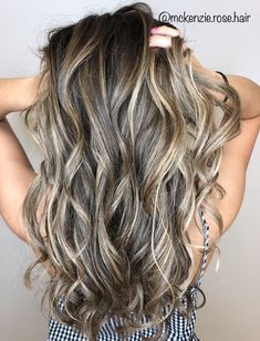 Best Pics Balayage Hair dirtyblonde Ideas Your are recognized for many points: thigh-high boot footwear, blossom electric power, the l Ombre Hair, Balayage Hair, Blonde Hair, Dark Balayage, Short Balayage, Bayalage, Haircolor, Long Curly Hair, Curly Hair Styles