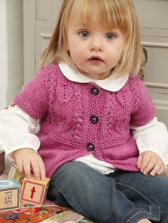 Rowan Studio Ravelry: Rapunzel pattern by Sarah Hatton Baby Hats Knitting, Knitting For Kids, Baby Knitting Patterns, Baby Patterns, Knitting Projects, Crochet Baby, Knit Crochet, Knitted Baby, Baby Knits