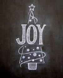 Image result for christmas tree chalkboard art