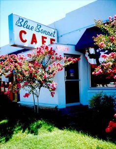 Bluebonnet Cafe in Marble Falls, Tx!  I LOVE this place and this city.  Miss TX so much.