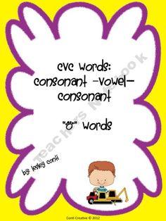 CVC Toy Truck O Words