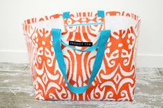 Project Ten - gorgeous beach totes