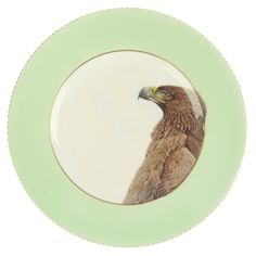 Upcycled Vintage 'Eagle' Bone China Side Plate