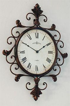 Homeware and Home Decor - Antique Baroque Clock