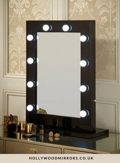 die besten 25 hollywood vanity mirror ideen auf pinterest make up spiegel hollywood mirror. Black Bedroom Furniture Sets. Home Design Ideas