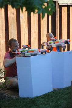 Toddler Approved!: Create a Fantastically Simple NERF Family Play Zone