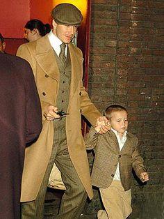 Beckham boys. Hand. Some.