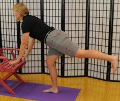 This page has balance and fall prevention exercises! Chair Exercises, Balance Exercises, Occupational Therapy, Physical Therapy, Health And Wellness, Health Fitness, Aging In Place, Senior Fitness, Goodies