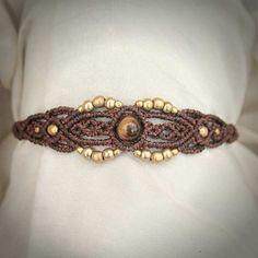 Butterfly Macrame Bracelet Tribal Ethno par MacramaniaShop sur Etsy