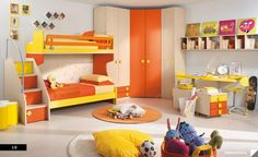 Citris flavored Bedroom