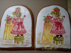 maľované medovníčky