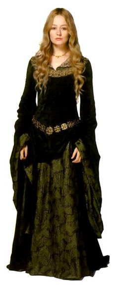 """Eowyn Dress idea. I think she is one of the most elegant women """"of her time""""."""