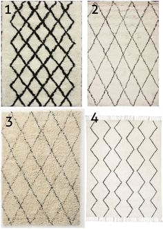 cheap beni ourain moroccan rugs on a budget