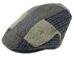 One of our best sellers! All patchwork done in Harris Tweed with the hat fully lined. Patchwork colors will vary. Made in Scotland.