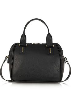 McQ Alexander McQueen The YT textured-leather tote | NET-A-PORTER