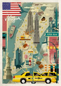 Dieter Braun | New York, City Poster Contest http://www.humanempireshop.com/citypostercontest/