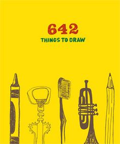 642 Things to Draw: Inspirational Sketchbook to Entertain and Provoke the Imagination (Drawing Books, Art Journals, Doodle Books, Gifts for Artist) Drawing Prompt, Drawing Journal, Wall Drawing, Drawing Topics, Sketch Journal, Object Drawing, Book Drawing, Drawing Board, Drawing Books For Kids