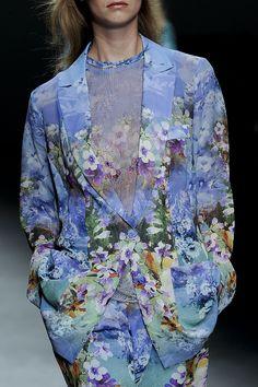 Angelo Marani at Milan Fashion Week Spring 2012 - StyleBistro