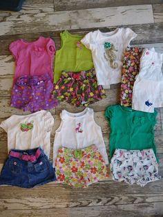 ce7c9c872b1 13 pieces Gymboree Girls Outfits Shirts and Pants Lot 18-24 Months (   fashion