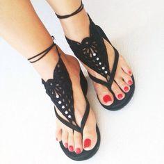 barefoot sandals!