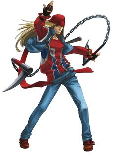 Axl Low - Character design and Art - Guilty Gear Isuka