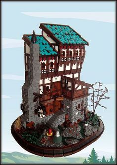 cool Lego castle