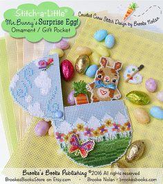 Brooke's Books Stitch-a-Little  Mr. Bunny by BrookesBooksStore