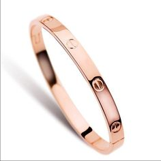 Rose gold, gold and silver plated bracelets 〰Rose gold plated, gold plated and silver 〰〰Clasp closure.〰Very cute and stylish.                      Mix and match. Prices $15 each. ASK ABOUT BUNDLE DISCOUNTS!!! Jewelry Bracelets