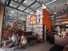 Dizengoff Philly #restaurant #cafe Times Square, Cafe Restaurant