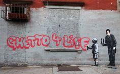 """ニューヨーク警察が""""鼠20""""原作者のバンクシーに制裁"""