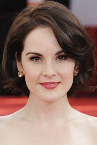 Michelle Dockery always looks flawless. Her layered bob is full of volume. Lady Mary Crawley would be very proud.: