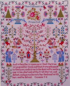 Praise God - Cross Stitch Pattern