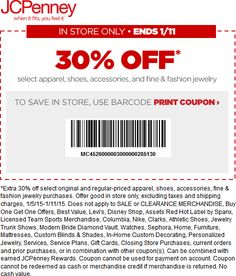 466 best coupon code images on pinterest app apps and auto jcpenney coupon jcpenney promo code from the coupons app off at jcpenney january fandeluxe Images