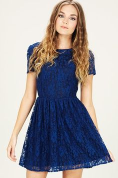 SSSALE13 Libby Dress - Navy - Sugarhill Boutique